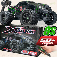 NEW Traxxas X-MAXX 4WD VXL-8s Brushless RTR Monster Truck GREEN