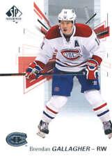 (HCW) 2016-17 Upper Deck SP Authentic #81 Brendan Gallagher Canadiens