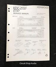 kenwood kdc x615 6015 cd receiver repair manual