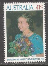 Australia #1179 (A418) MNH - 1990 41c Queen Elizabeth II, 64th Birthday