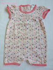 Cocoon***Body/combinaison à étoiles  6 mois fille rose