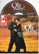 TWENTY 4 SEVEN - Oh baby! CD SINGLE 2TR Eurodance 1994 Dutch Cardsleeve (CNR)