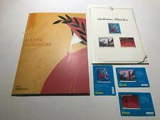 2021 Folder + Bollettino Filatelico + Tessere Filateliche 700° Dante Alighieri