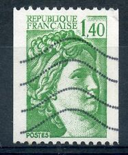 TIMBRE FRANCE OBLITERE N° 2157 TYPE SABINE ROULETTE