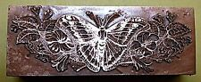 """A """"BEAUTIFUL BUTTERFLY"""" BOOKPLATE Printing Block"""