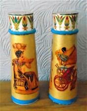 COLUMNS PILLARS ancient EGYPTIAN  ART DECO dolls house handmade 8 inches