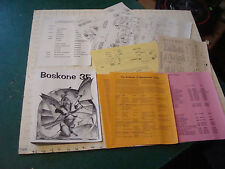 original Sci Fi paper(s): BOSKONE 35 - feb 1998 program and papers SCI FI CON