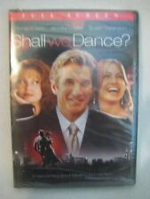 Shall We Dance? (DVD, PG-13, Full Screen, Gere, Lopez & Sarandon) NEW AND SEALED
