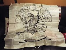 AWESOME RARE VINTAGE 1981 ROLLING STONES CONCERT TATOO YOU TOUR BANNER TOWEL