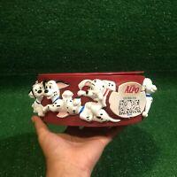 Vintage Walt Disney 101 Dalmatians Puppy Dog Water/Food Bowl By Friskies Alpo