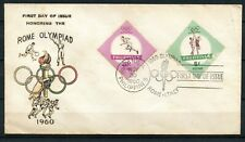 Philippines, 1960, Scott # 821 & 822, First Day Cover, Rome Olympiad