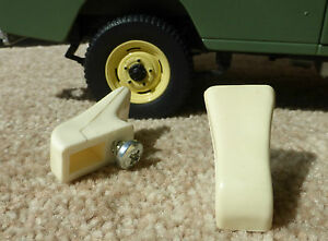 Land Rover Lightweight Series 2a 3 Smiths Heater Replacement Door Handle Knobs