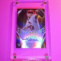 2013 Bowman Sterling Ruby REFRACTOR /99 Michael Wacha Rookie AUTO Autograph RC