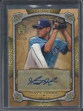 MATT MOORE 2013 TOPPS SUPREME STYLINGS GOLD AUTO #D 15/50