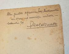 POESIA - Casalinuovo: La Lampada del Poeta 1929 Zanichelli 1a ed. dedica autore