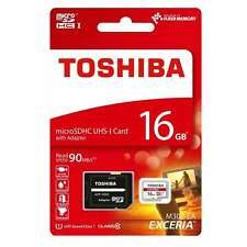 16GB  Micro SD SDHC 90MB/s Memory Card For Sony Xperia M2 Dual Mobile Phone