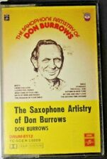 The Saxophone Artistry of Don Burrows   Cassette Drum-8112  TC SOEX-10209