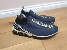 DOLCE&GABBANA MEN'S SHOES TRAINERS SNEAKERS BLUE SIZE UK11 EUR45