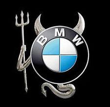 SILVER CAR DEVIL 3D STICKER DECAL PACK (UK SELLER) fits BMW 635 640