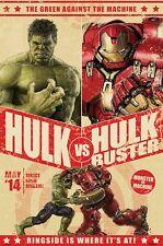 Marvel Avengers Hulk Hulkbuster 91.5X61CM V Maxi Póster Nuevo Mercancía Oficial