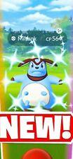 Pokemon Go Shiny miltank Guaranteed Catch.