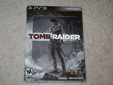 TOMB RAIDER STEELBOOK...PS3...***SEALED***BRAND NEW***!!!!!