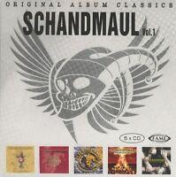 SCHANDMAUL - ORIGINAL ALBUM CLASSICS  5 CD NEU