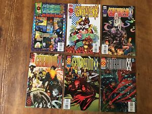 GENERATION X 13 Issue Lot #1 to #13 1994 MARVEL RUN KEY ISSUES 1ST App CHAMBER d