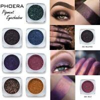 PHOERA Matte Eyeshadow Shimmer Glitter Eye Shadow Powder Palette Cosmetic Makeup