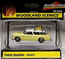 Woodland Scenics Ho/Hon3 Family Vacation (5525)