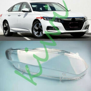 For Honda Accord 2018-2020 Right Side Headlight Clear Cover + Glue Replace