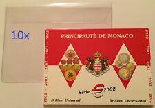 Hoesjes voor het opbergen van BU sets Monaco vanaf 2001 (per 10)