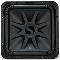 "Kicker Solo-Baric L7S 2000W 15"" 4 Ohm DVC Sealed or Ported Square Subwoofer"