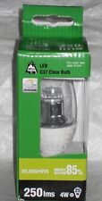BELL LIGHTING * 4w DIMMABLE LED CANDLE SES E14 CLEAR 05139 * WARM WHITE