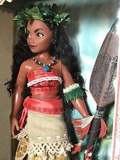 "Disney Moana Limited Edition Doll-16"" LE 6500 Disney Store Island Girl NIB"