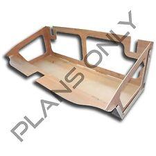 Alien Enclosures 70-72 Monte Carlo Custom Trunk Panel TEMPLATE / PLANS