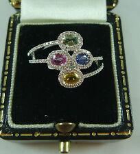 Unbranded Sapphire White Gold 18k Fine Jewellery