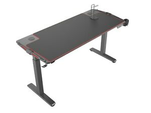 Eureka Ergonomic EGD-S62B Gaming Desk with RGB Light - Height Adjustable