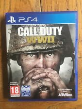Call of Duty World War 2 (unsealed) - PS4 UK Release New!