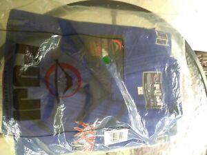 Fuji USA Judo Single Weave 4 Blue