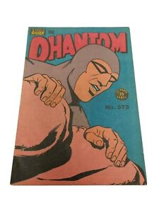 Australian Frew Phantom Comic No. 573 Very Good Published 1975 Bagged & Boarded