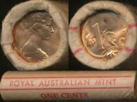 Australia, RAM Mint Roll of 50 1983 One Cent Coins - Unc-Gem Unc