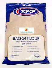 RAGGI/RAGI FLOUR - FINGER MILLET - KURRAKAN - TOP-OP - 1kg