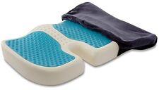 NEW TravelMate Coccyx Orthopedic Gel enhanced Comfort Foam Seat Cushion