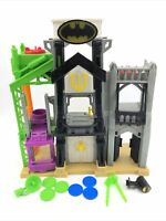 Imaginext Wayne Manor Tower Batman Playset TESTED WORKS 2015 W/ Weapons