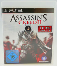 Assassin'S CREED II 2-SONY PLAYSTATION 3 ps3 completo in scatola originale molto buono