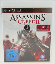 Assassin's Creed II 2 - Sony Playstation 3 PS3 komplett in OVP sehr gut
