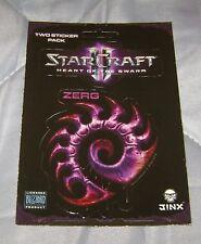 STARCRAFT II HEART OF THE SWARM ZERG FACTION LOGO STICKER DECAL NEW LICENSED