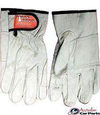 Mechanics Gloves Machine Washable Pig Skin T&E Tools new G7730M size Medium