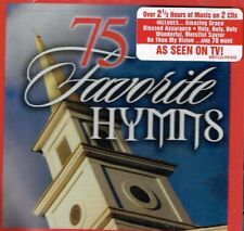 """""""75 FAVORITE HYMNS"""" - Brand New SEALED 2 CD set - Choir and Orchestra GOSPEL"""